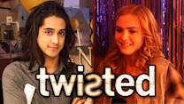"""Twisted"" Season 1B Set Secrets with Avan Jogia, Kylie Bunbury & Maddie Hasson"