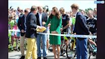 Kate, William, And Harry Reunite At The Tour De France