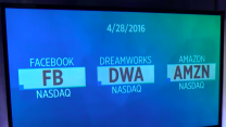 Facebook hits new high; DreamWorks' $3.8 billion deal; Amazon results on tap