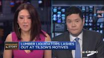 Lumber Liquidators lashes out at Tilson