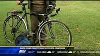 Bikes count project tallies cyclists countywide