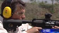 Perry defends position on gun control measures