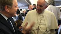 Aboard Pope Francis' First Flight to Africa