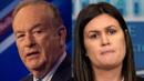 Bill O'Reilly Offers To Stand Next To Sarah Sanders To Handle 'Out Of Line' Reporters