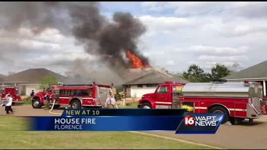 Florence house fire