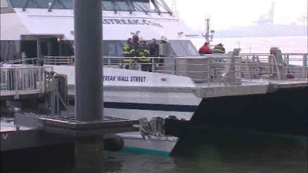 Dozens injured in lower Manhattan ferry accident