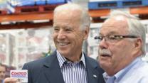 Biden, at Costco, calls for middle class tax cut