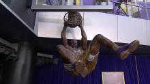 The Big Statue: Lakers celebrate Shaquille O'Neal with giant dunking bronze monument