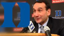 Coach K Speaks After Duke Win vs Davidson