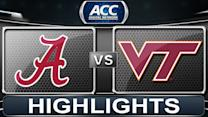 Alabama vs Virginia Tech | 2013 ACC Football Highlights