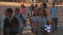 New York City students head back to school
