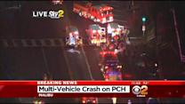 8 Injured By Multiple Car Crash In Malibu