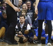 Creighton loses nation's assists leader to a left knee injury