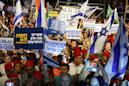 Opposition rallies to 'save' Israel from Netanyahu