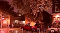 Severe Weather Reaches Chicago Area