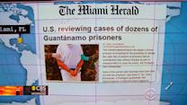 Headlines: Guantanamo prisoners' cases under review as Obama seeks to close prison