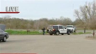 Deputies Work To Retrieve Body In River