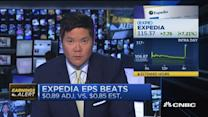 Expedia revenue inline with expectations