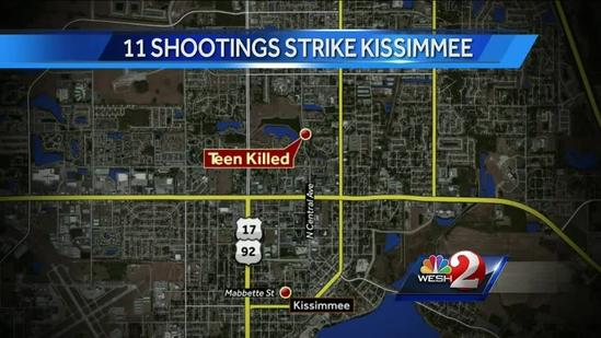 Police probe 11 recent Kissimmee shootings