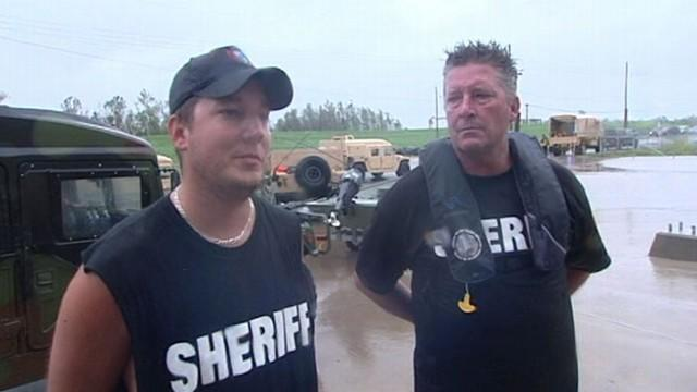 Hero Father-Son Team Makes Isaac Rescue