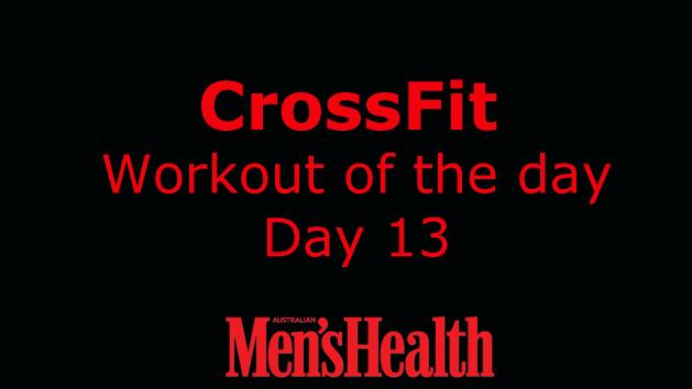 CrossFit Workout - Day 13