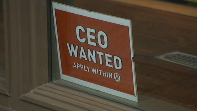 Lululemon Searches for CEO With Help Wanted Signs