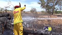 Heavy machinery blamed in Fresno County fire
