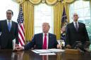 The Latest: Trump tightens sanctions on Iran