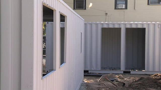 This Shipping Container Will Soon be a Restaurant