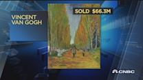 These paintings sold for over $50M