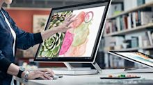 Microsoft Pitches Creativity Tools With New Surface Studio Desktop