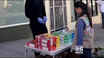 Bay Area Girl Scout Sells Cookies Outside Marijuana Dispensary