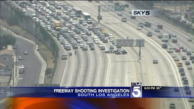 Freeway Reopens After Shooting Investigation