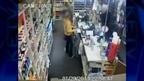 Three armed gunman rob convenience store