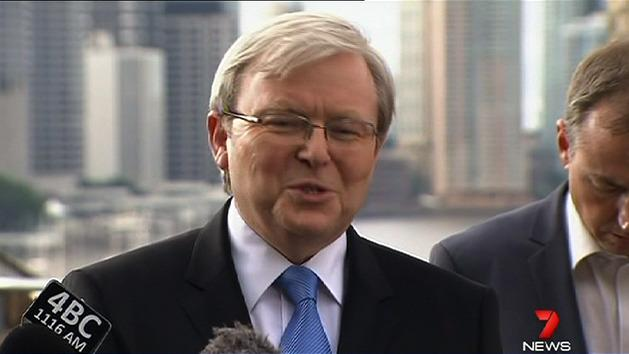 'I had no chance of winning': Rudd