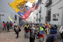 Ecuador's protesters march; clashes break out in Quito