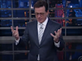 Stephen Colbert calls Trump's tweets aimed at Mika Brzezinski a 'buffet of s---'