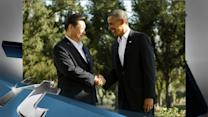 United States Breaking News: Obama and China President Xi Take a Morning a Stroll