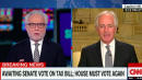 Bob Corker Accuses Wolf Blitzer Of 'Having A Great Time' Pressing Him About Tax Bill Vote