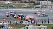 All Access: Multiple views of late wreck at Talladega