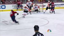Orlov blows a one-timer past Mason
