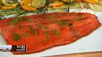 Chef Matt Lambert's Ora King Salmon on THE Dish