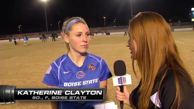 Boise State's KT Clayton Post-Game Interview