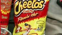 Schools ban Flamin' Hot Cheetos