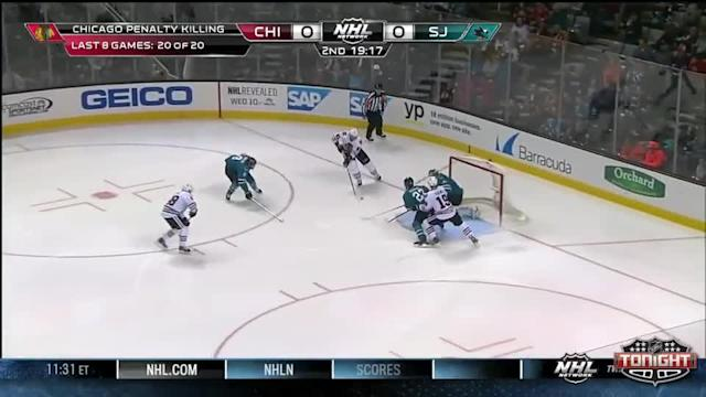 Chicago Blackhawks at San Jose Sharks - 02/01/2014