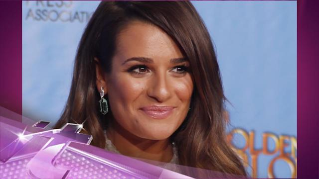 Entertainment News Pop: Lea Michele Steps Out After Return to 'Glee'
