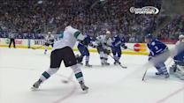 Pavelski sets up Thornton on 5-on-3 PPG