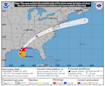 Hurricane Zeta crashes ashore in Louisiana as a powerful Category 2 hurricane