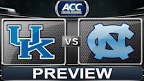 Roy Williams, Marcus Paige, & John Calipari Talk Kentucky vs UNC Showdown