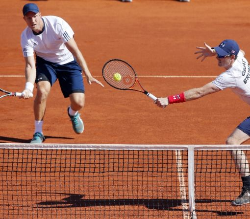 Doubles win gives Britain lead over Serbia in Davis Cup